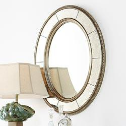 Mirrors - Wall Decor - Opulent Oval Mirror - RSH Catalog - gold, mirror, antique, oval