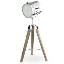Lighting - Lighting - Spot Light Table Lamp - RSH Catalog - spotlight, surveyor, table, hollywood, nickel, lamp