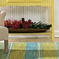 Rugs - Rugs - Bold Stripe Rug - RSH Catalog - lime green, blue, striped, rug