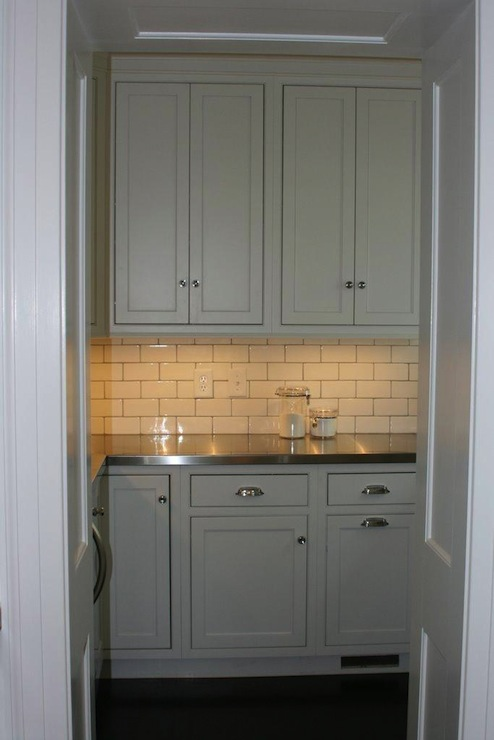 Butler Pantry Traditional Kitchen West End Cabinet