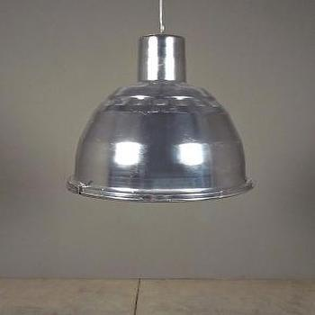 Lighting - silver graniteville light | Redinfred - aluminim, pendant, industrial, modern, silver, punched