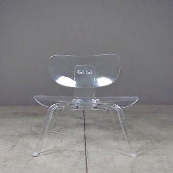 Seating - the whisper chair | Redinfred - ghost, chair, vintage, eames, modern, plastic, clear