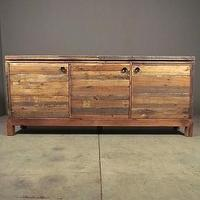Storage Furniture - reclaimed sideboard | Redinfred - reclaimed, rustic, wood, industrial, modern, storage, media, sideboard, cabinet