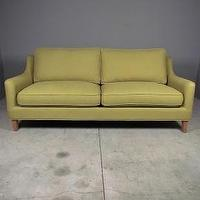 Seating - breezy point sofa | Redinfred - green, avocado, retro, modern, sofa, simple, linen, chic