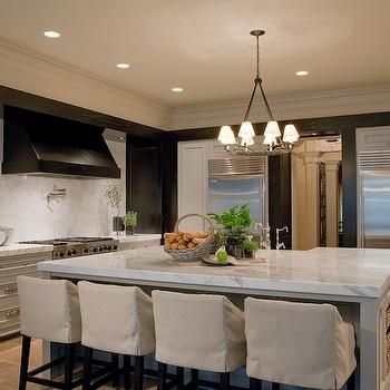2 Tone Kitchen, Contemporary, kitchen, Atlanta Homes & Lifestyles