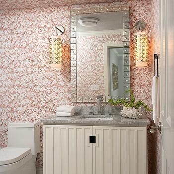 Ivory Bathroom Cabinets, Contemporary, bathroom, Martha O'Hara Interiors