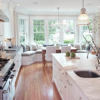 Kitchen Built In Banquette, Transitional, kitchen, Papyrus Home Design