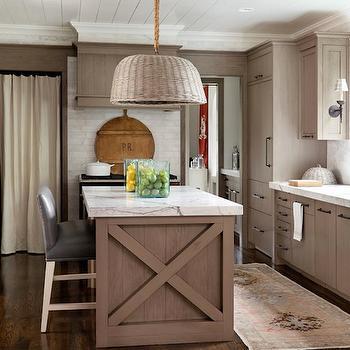 Light Brown Kitchen Cabinets, Cottage, kitchen, Hammersmith Atlanta