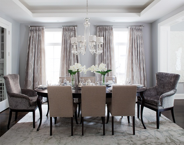 Dining Room Captain Chairs - Contemporary - dining room - Jennifer ...