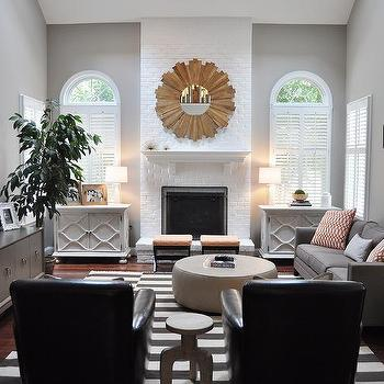 Gray Paint Colors, Transitional, living room, Benjamin Moore Cosmopolitan, JWS Interiors