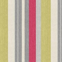 Fabrics - Ismir Ruby - Bamboo - Fabric - Calico Corners - pink, green, avocado, grey, gray, cream, striped, fabric