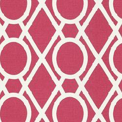 Fabrics - Lattice Bamboo Raspberry - Fabric - Calico Corners - fabric, cotton, pink, raspberry, trellis, lattice, white