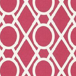 Lattice Bamboo Raspberry, Fabric, Calico Corners
