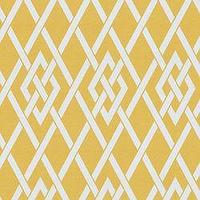 Fabrics - Secret Gate Outdoor Gold - Fabric - Calico Corners - yellow, trellis, lattice, mustard, fabric, graphic
