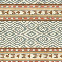 Fabrics - Uzbek Stripe Sky - Fabric - Calico Corners - blue, cream, coral, fabric, patterned, eastern