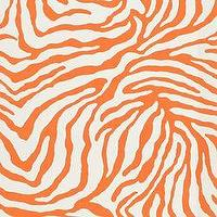 Fabrics - Under My Skin Outdoor Grenadine  - Fabric - Calico Corners - orange, cream, animal, print, zebra, outdoor, fabric
