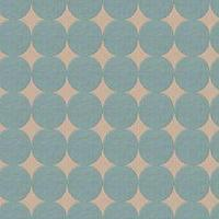 Fabrics - Plush Dotscape  - Fabric - Calico Corners - dwell, polka, dots, geometric, teal, blue, gold, cream,