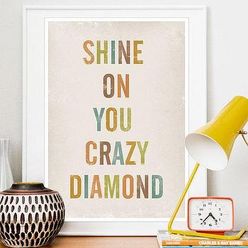 Art/Wall Decor - Quote print - by handz - Etsy - modern, nursery, kids, typography, art, decor, poster, print, pastel,