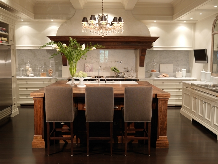Two Tone Kitchen Design Transitional Kitchen House Home