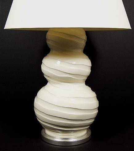 Triple Gourd Spiral Lamp Sue Fisher King