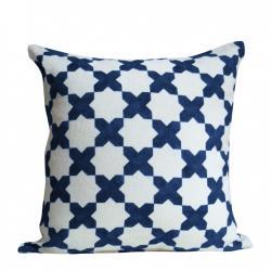Sapphire Etoile Pillows, Christen Maxwell.com