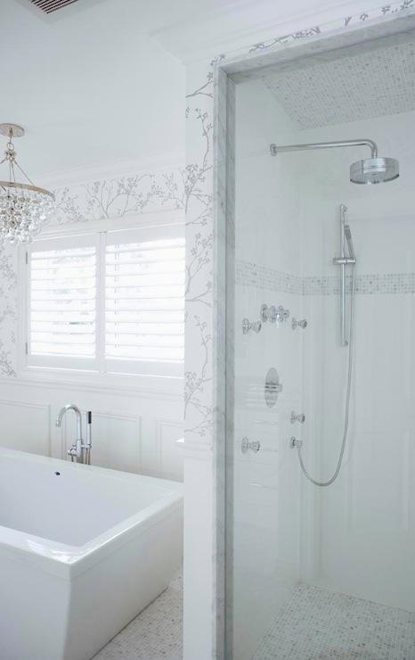 bathroom floors, silver wallpaper, bathroom wallpaper, silver bathroom