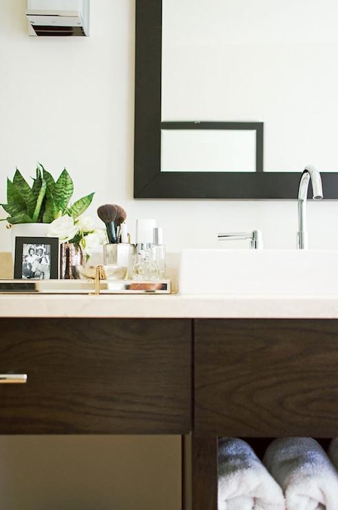 Espresso bathroom vanity contemporary bathroom design sponge - Design sponge bathrooms ...