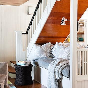 Beadboard Bench Cottage Bedroom Molly Frey Design
