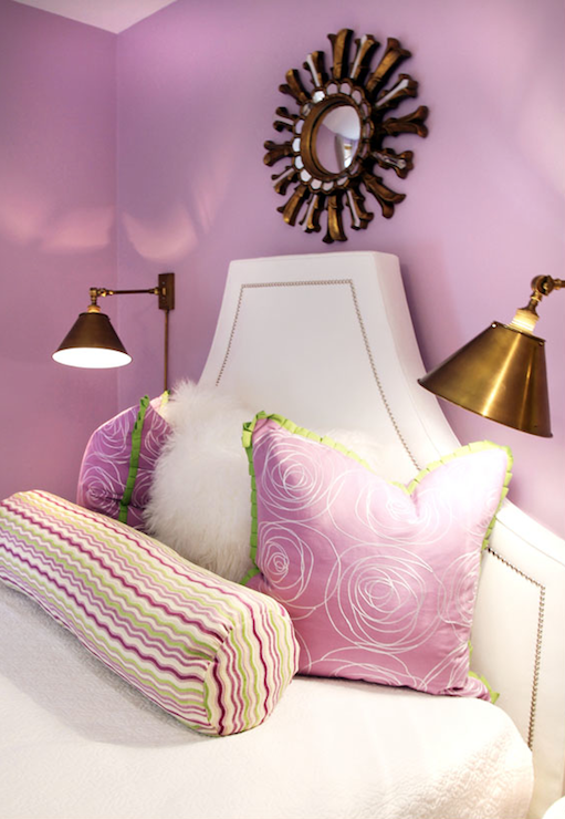 Lavender Girl 39 S Bedroom Contemporary Girl 39 S Room