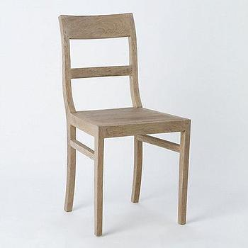 Seating - Preserved Teak Dining Chair - Terrain - teak, dining, chair, rustic, simple, garden, outdoors,
