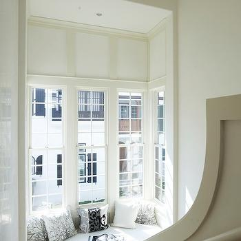 Built In Window Seat, Contemporary, entrance/foyer, Tracery Interiors