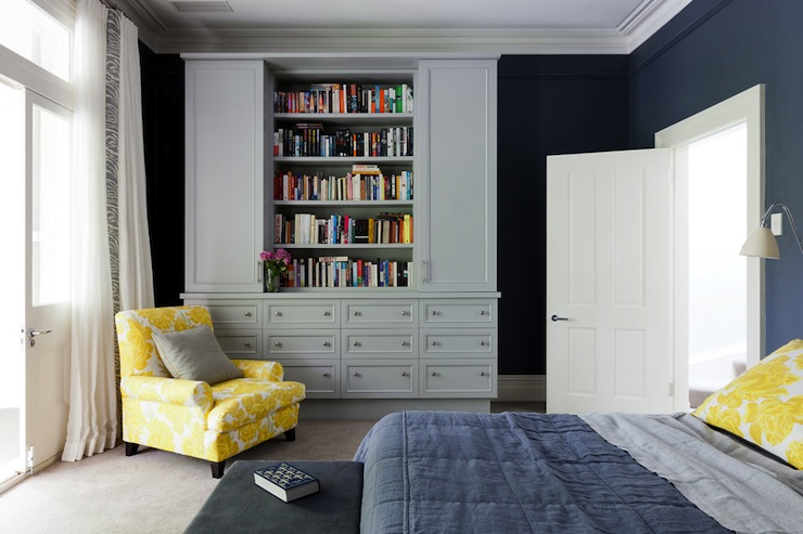 Blue Yellow And Grey Bedroom Furthermore Navy Blue And Yellow Bedroom