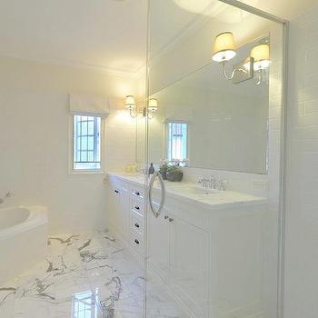 Subway Tile Backsplash, Contemporary, bathroom, A Welsh Girl in Australia
