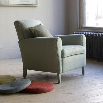 Seating - canvas - Paris Bedroom Chair - pale, green, linen, armchair,