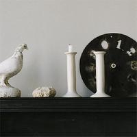 Decor/Accessories - canvas - Soapstone Candlestick - cream, ivory, simple, candlesticks, holders, candle, artisan, soapstone,