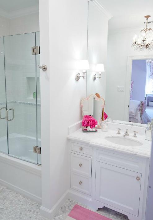 girl 39 s bathroom design contemporary bathroom munger interiors
