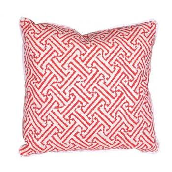 Pillows - java fireworks grande accent pillow - Oomphonline - orange, graphic, contemporary, modern, pillow,