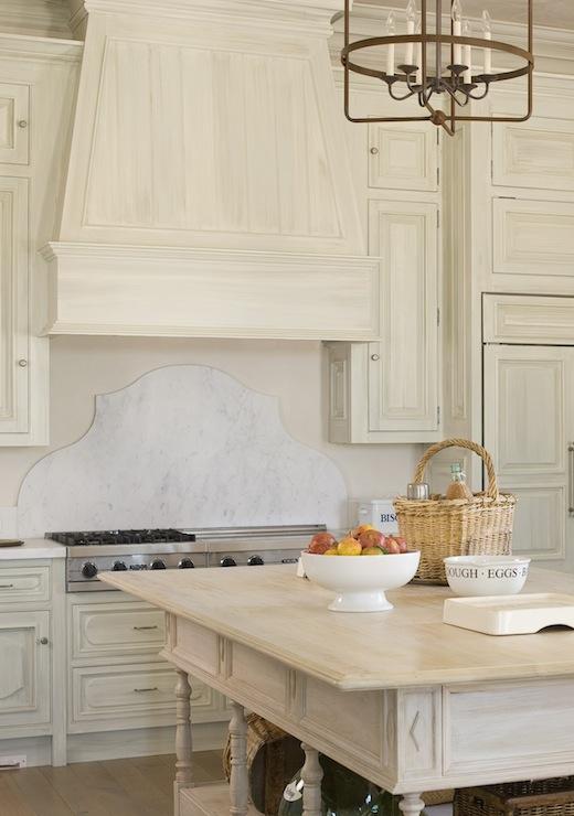 White Washed Kitchen Cabinets  French  kitchen  Phoebe Howard