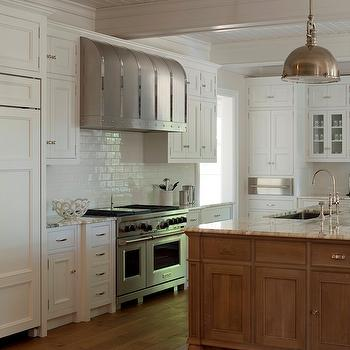 2 Tone Kitchen, Traditional, kitchen, Phoebe Howard