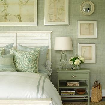 Crystal Lamps for Bedroom, Cottage, bedroom, Phoebe Howard