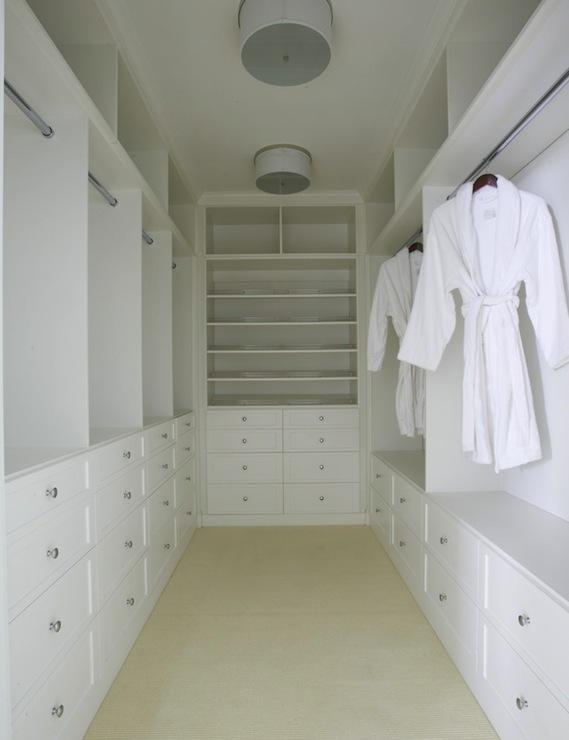 built in closet shelves transitional closet lynn. Black Bedroom Furniture Sets. Home Design Ideas