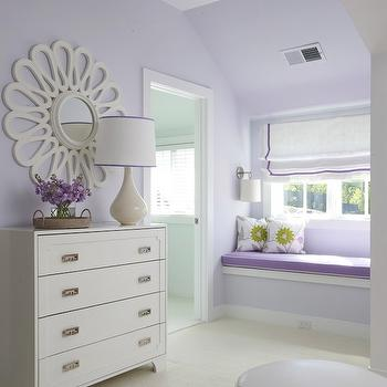 Built In Window Seat, Traditional, girl's room, Lynn Morgan Design