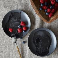 Miscellaneous - Spooky Canape Plates | west elm - plates, halloween,