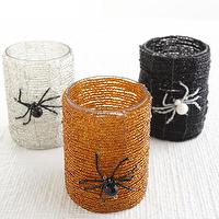 Miscellaneous - Creepy Crawly Votive Holder | Wisteria - candles, votive, halloween,