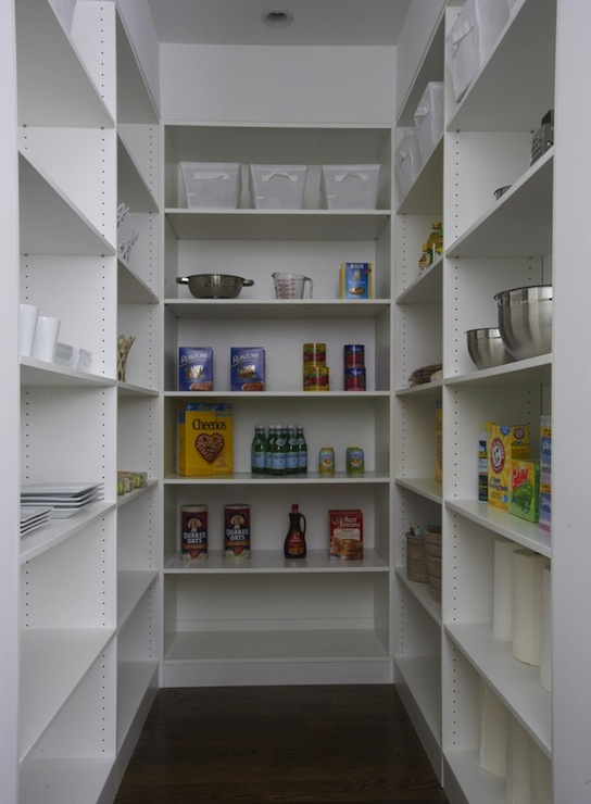 Walk In Pantry Shelves Traditional Kitchen Lynn