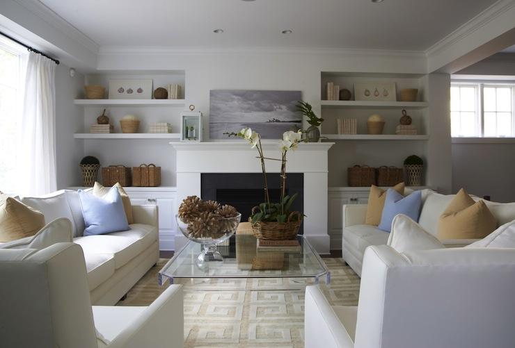 u shaped living room design  U Shaped Living Room Furniture Arrangement Design Ideas