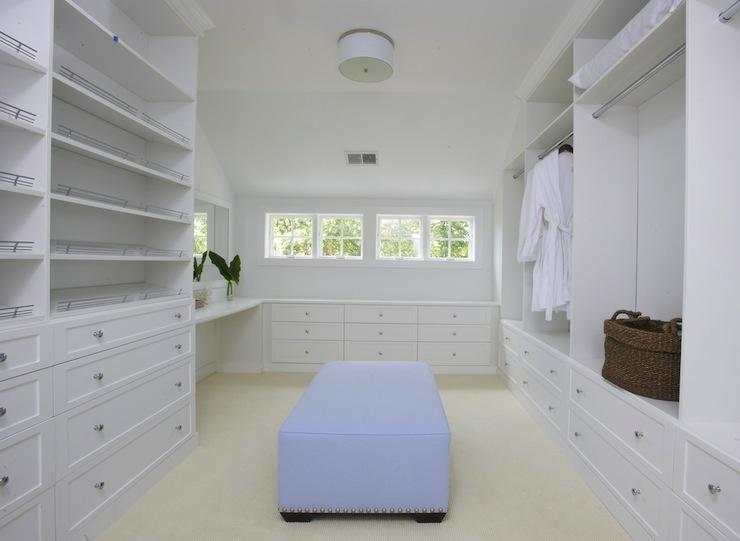 Walk In Closet With Vanity Transitional Closet Lynn
