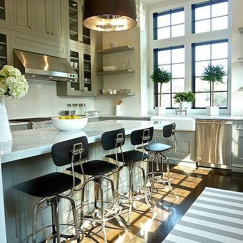 Gray Kitchen, Contemporary, kitchen, Lynn Morgan Design