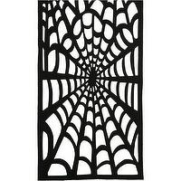 Miscellaneous - Spider Web Runner | Crate and Barrel - table, runner, web, spider, halloween,