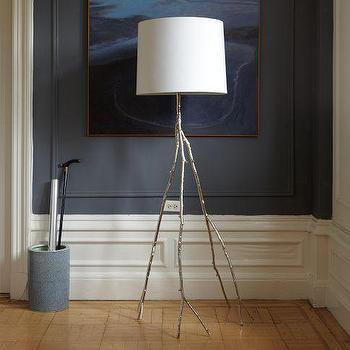 Lighting - Branch Floor Lamps | west elm - silver, branch, aluminium, tree, lamp, floor